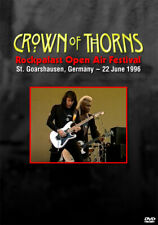 Crown of Thorns Live DVD Jean Beauvoir Little Steven Plasmatics Paul Stanley AOR