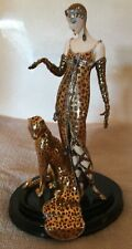 The Franklin Mint House of Erte Ocelot Figurine Limited Edition #A2272