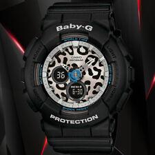 Casio BABY-G BA-120LP-1A Black Analog and Digital World Time Watch 100M WR