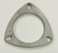 3 Inch 3 Hole Exhaust Pipe Flanges 8mm 76mm Tube 304 Stainless Steel