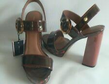 e4b27cc52caf TOMMY HILFIGER Paris Leopard Print Sandals Size 6 NEW TAGS