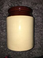 """Pearsons of Chesterfield Vintage 8"""" Tall Crock  Made in England"""