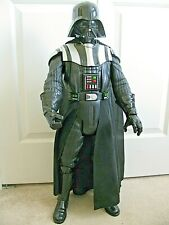 """Star Wars BIG FIGS Giant 31"""" Tall Electronic DARTH VADER Diff Phrases 2 Hands"""