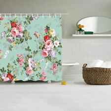 Fashion Flowers blossom spring printing bath curtain Waterproof Shower curtains