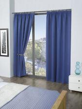 Rideaux bleus moderne en polyester pour la maison