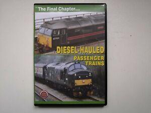 Train Crazy Diesel Hauled Passenger Trains Final Chapter DVD