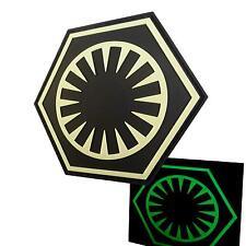 Star Wars First Order Force Awakens PVC glow dark écusson patch VELCRO® brand
