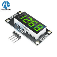"Red/Blue/Green/White/Yellow 0.36/0.56"" inch TM1637 4 Bit LED Display Clock Tube"