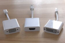 Thunderbolt auf Video Adapter DVI VGA HDMI Moshi und Apple