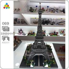 YZ Architecture 069 Paris Eiffel Tower DIY Mini Diamond Building Nano Blocks Toy