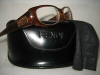 NEW FENDI Women F717R Havana Plastic Optical Frame RX Reading Eyeglasses 140MM