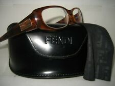 NEW FENDI Women F717R Havana Plastic Optical Frame RX Reading Eyeglasses 140 MM