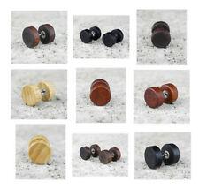 Wooden Stud Fashion Earrings