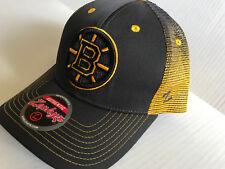 NWT-NHL-ZEPHYR Boston Bruins SNAPBACK MESH BACK HAT  ADJUSTABLE