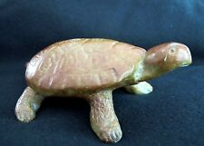 "Animal Sculpture ""Large Turtle"" Reptile  Cast  Bronze  Decorative Collectible"