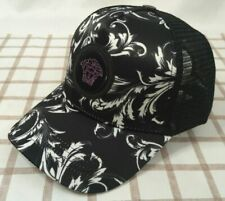NWT Versace Baseball Hat Adjustable Strap Outdoor Cap Black