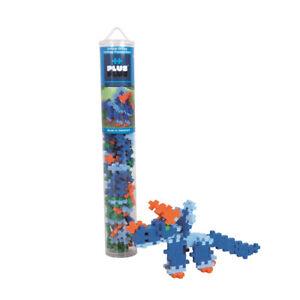 Plus Bauklötze - Triceratops Dinosaurier 100pc Rohr Konstruktion Spielzeug