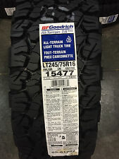 4 New LT 245 75 16 BFGoodrich All Terrain T/A KO2 10 Ply Tires