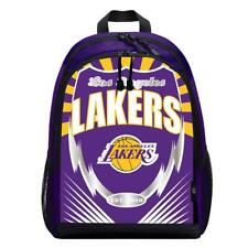 Los Angeles Lakers Lightning Style Backpack [NEW] NBA Sling Bag Back Pack Sack