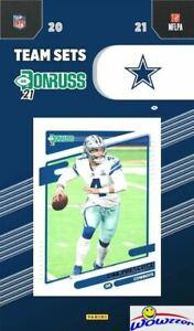 Dallas Cowboys 2021 Donruss Team Set-Dak Prescott, Ezekiel Elliott, Emmitt Smith