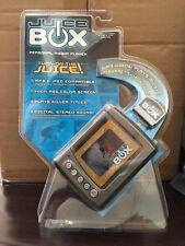 *NIB* Juice Box Personal Media Player By Mattel - Gray
