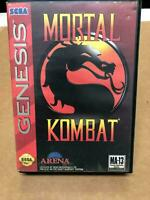 Mortal Kombat Sega Genesis - Complete - Authentic CIB With Manual Fast Free Ship