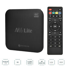 Android 7.1 4K 3D Smart TV Box 1+8G QUAD CORE WIFI 1080P lettore multimediale USB HDMI