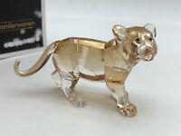 Swarovski Figurine 1051686 Scs Tigre Jeune Animal 9 Cm. État Top