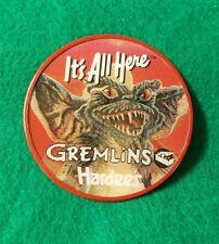 Vintage Hardee's Gremlins Promotional Employee Premium Vari-Vue Button