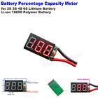 Lithium 18650 Polymer Battery Percentage Capacity Guage Level Indicator Meter