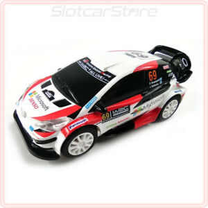 "Ninco 1:43 WRC 91205 Toyota Yaris ""No.69 K.Rovanperä"" 2020 Rally Auto Licht"