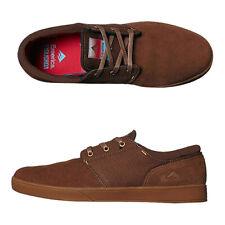 Emerica Shoes Figgy Figueroa SMU Brown Gum USA SIZE Skateboard Sneakers