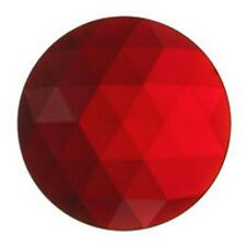 Stained Glass Supplies - Jewels -JEWEL-20mm ROUND-RED (3430) FREE SHIPPING