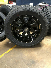 """20x10 Moto Metal Mo962 Wheels Rims 33"""" Mt Tires Package 5x150 for Toyota Tundra"""