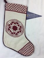 Pacific Lutheran University Needlepoint Stocking Collegiate Collection NWTs
