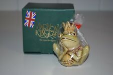 Harmony Kingdom Crown Jewel Frog King Rwfr Box Royal Watch Hop 2002 Figurine