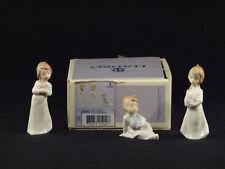 Lladro Christmas Morning Mini Camisones Ornaments #5940 - Set of 3 in Box
