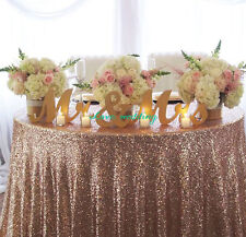 gold Wedding Reception Sign Solid Wooden Letters Mr & Mrs Table Centrepiece Deco