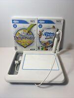 uDraw Game Tablet, uDraw Studio,Pictionary, Nintendo Wii Lot, Bundle