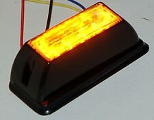 850 Yellow LED Emergency Strobe Construction Lightbar flashing Amber