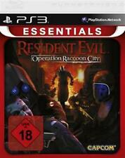PlayStation 3 residente Evil Operation Raccon City usado/muy buen estado