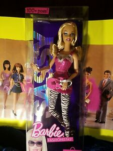 Poses NEW IN BOX GLAM 2009 Collectible 50th Anniversary Barbie Fashionista 100
