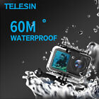 TELESIN For DJI Osmo Action Sports Camera 40M 60M Waterproof Housing Case Shell