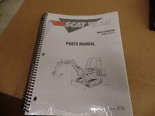 SCAT TRAK MINI EXCAVATOR MODEL 530 / 533 PARTS MANUAL, 8990325, OMNIQUIP, N.O.S