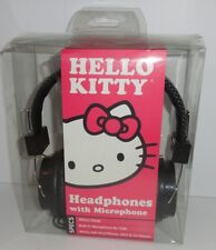 Hello Kitty Headphones with Microphone