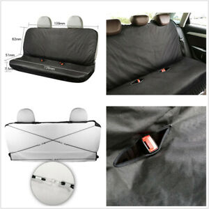 1PCS 600D Oxford Cloth Seat Protect Cover Universal Fit For Car Rear Three Seat