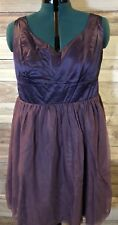 Tevolio Women's Purple Dress Size 18W Knee Length Formal Brand New LBB76