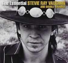 STEVIE RAY And DOUBLE VAUGHAN - The Essential Stevie Ray Vaugh [CD]