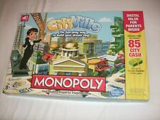 Monopoly CITYVILLE Board Game 2012
