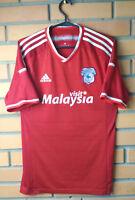 Cardiff City Away football shirt 2015-2016 Adizero player issue jersey Adidas
